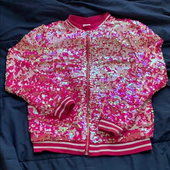 Girl's Sequin Jacket